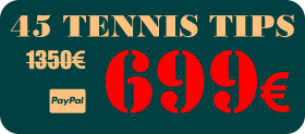 45 tennis tips - betting predictions