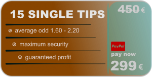 15 single tips - betting predictions