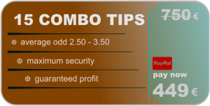 15 combo tips - betting predictions